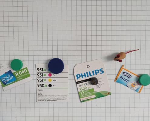 Checkliste Verbrauchsmaterialien